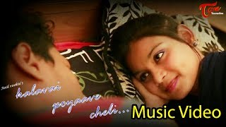 KALAVAI POYAAVE CHELI | Telugu Music Video 2017 | By Anil Rookie - TELUGUONE