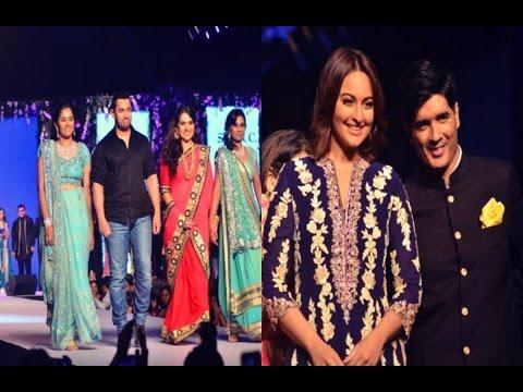 Sonakshi & Aamir Walk The Ramp For Charity
