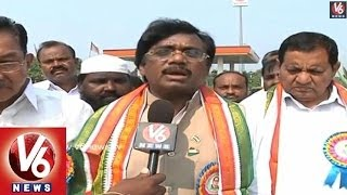 MP Vivek Participates in Dr.B.R. Ambedkar Jayanthi Celebrations - V6NEWSTELUGU