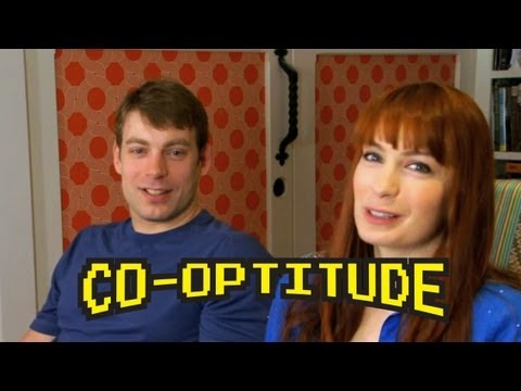 Felicia Day, Ryon Day and Retro Games - New Show Co-Optitude premieres May 27th!