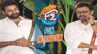 F2 Sankranthi Interview   Venkatesh, Varun Tej, Tamannaah, Mehreen | Anil Ravipudi - DILRAJU