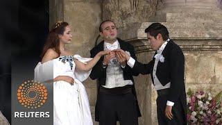 Jordan hosts opera festival amid Roman ruins - REUTERSVIDEO