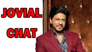 Shahrukh Khan's jovial Interaction with zoOm! - EXCLUSIVE - ZOOMDEKHO