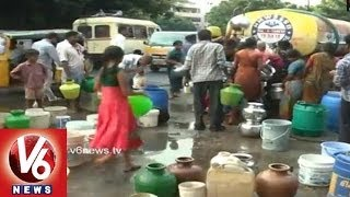 Water Problem Of Common Man Is Leaders Problem Too - V6NEWSTELUGU