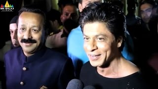 Shah Rukh Khan Interview from Baba Siddiqui's Iftar Party | Sri Balaji Video - SRIBALAJIMOVIES