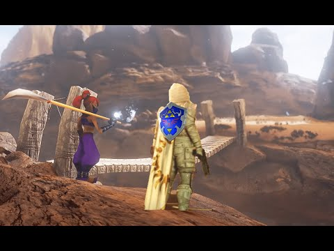 Trials in Gerudo Valley