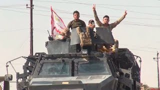 Dramatic moment Iraqi forces enter Kurdish Kirkuk (EXCLUSIVE) - RUSSIATODAY