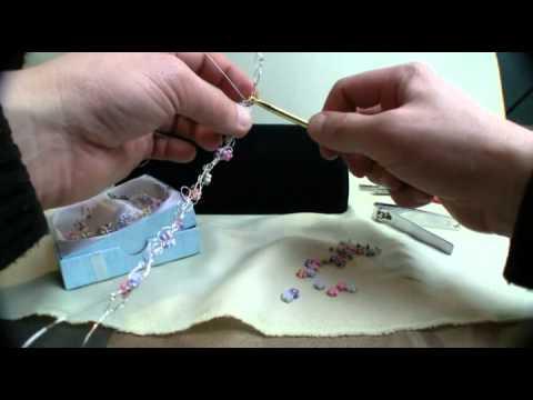 Crochet 3 Strand Jewelry Wire Bracelet