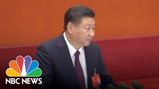 China's President Says Economic Rebirth Is Only At 'Halfway Point' | NBC News - NBCNEWS