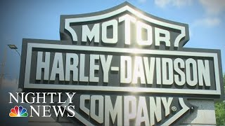 Harley-Davidson Layoffs After Tax Cuts Anger Employees | NBC Nightly News - NBCNEWS