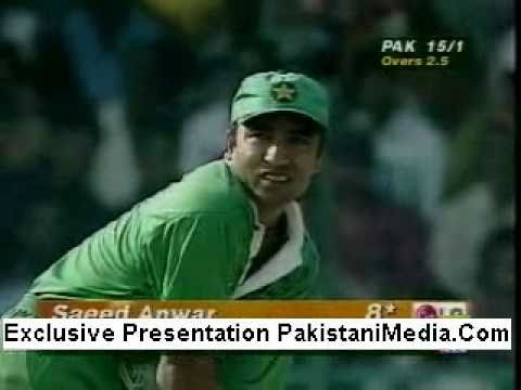 Saeed Anwar's World Record Innings of 194 V India