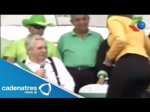 Alcalde boliviano manoseó a una periodista durante un acto público