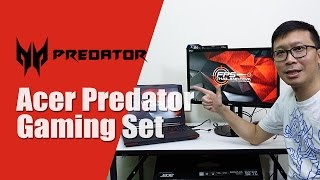 ?????: Acer Predator 15 ??? Acer XB240H 144Hz Monitor