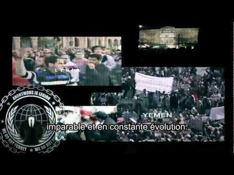 [FR] Anonymous message to world leaders. This is wonderful :) [VERSION FRANCAISE]