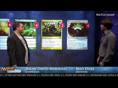 2013 World Championship Modern Deck Tech: Selesnya Hexproof with Reid Duke