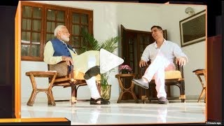 "Watch: Akshay's ""Non-Political"" chat with PM Modi - ZEENEWS"