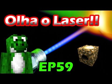 Minecraft com Mods - Arma Laser! BOOOM!! - EP59