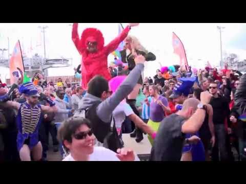 Harlem Shake on the European Gay Ski Week 2013