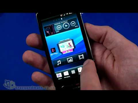 Sony Ericsson Xperia neo V Video