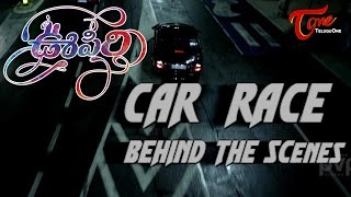 Oopiri Making Car Race Behind The Scenes | Nagarjuna, Karthi, Tamannaah - TELUGUONE