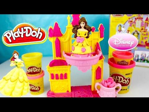 Plastilina Play Doh Disney Princess   Castillo de Princesa Bella Mundo de Juguetes