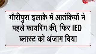Breaking News: IED Blast in J&K's Awantipora by terrorists - ZEENEWS