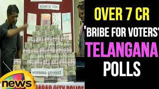Anjani Kumar IPS About Hawala Cash to the Tune of 7 Cr, Found Ahead Of Telangana Polls |Mango News - MANGONEWS