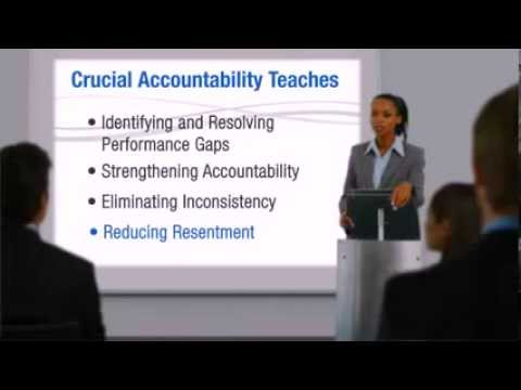A 3 Minute Summary of Crucial Accountability