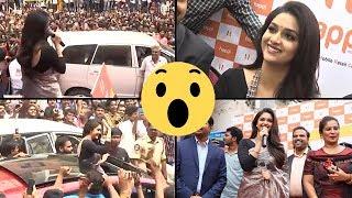 Keerthy Suresh Launched Happi Mobiles Store in Guntur | TFPC - TFPC
