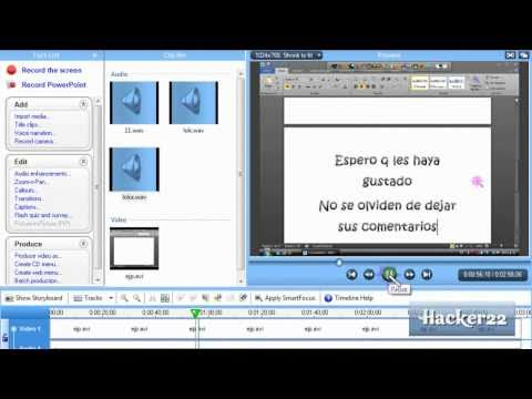 Como poner voz Loquendo en un video | Hacer tutoriales con Loquendo