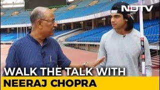 Walk The Talk With Asian Games Gold Medallist Neeraj Chopra - NDTV