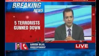 Hajin encounter: 5 terrorists gunned down, 1 soldier injured - NEWSXLIVE