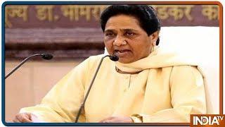 UP में Congress से किसी तरह का गठबंधन नहीं है, 7 सीटें छोड़ने का भ्रम ना फैलाएं -Mayawati का बड़ा हमला - INDIATV