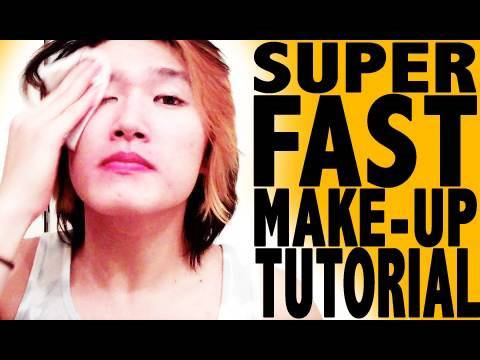SUPER FAST MAKE UP TUTORIAL