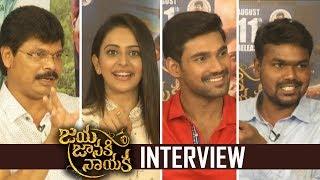 Jaya Janaki Nayaka Movie Team Special Interview | Bellamkonda Srinivas | Rakul Preet Singh | TFPC - TFPC