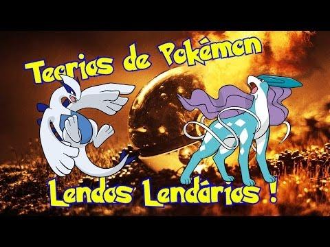 Teorias de Pokemon #9 - Lendas Lendárias !