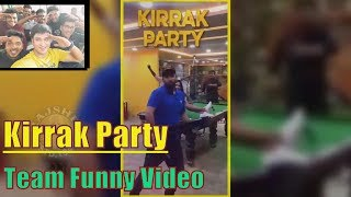 Kirrak Party Team Caught In The ACT |  Kirrak Party Funny Video | Nikhil Siddharth | Samyuktha - RAJSHRITELUGU