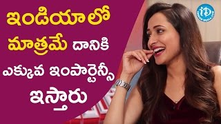 Indians Are Very Particular About That - Pragya Jaiswal || Talking Movies With iDream - IDREAMMOVIES