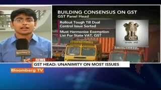 Newsroom- GST Meet: No Word On States' Compensation - BLOOMBERGUTV