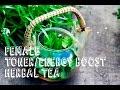FEMALE HORMONE BALANCE & ENERGY BOOSTER HERBAL TEA