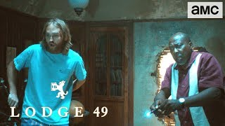 'A Secret Room' Talked About Scene Ep. 103 | Lodge 49 - AMC