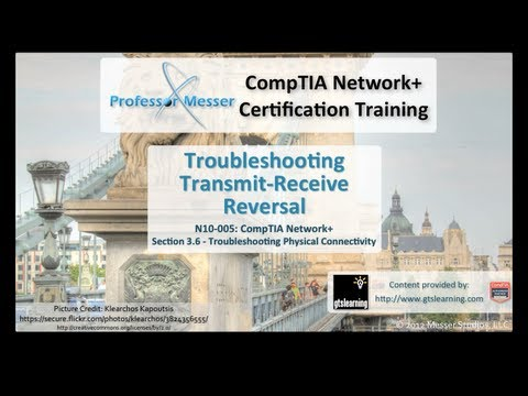Troubleshooting Transmit-Receive Reversal - CompTIA Network+ N10-005: 3.6