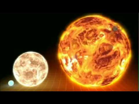 Largest star ever discovered compared to our Sun