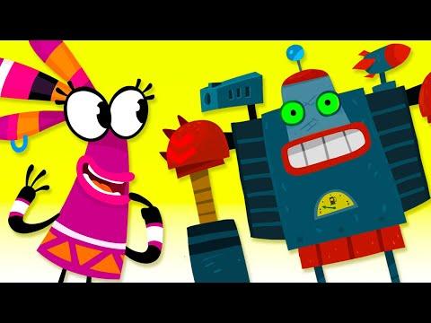 Кадр из мультфильма «Куми-Куми : Робот, эпизод 10»