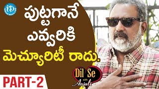 Actor Benarjee Interview Part #2    Dil Se With Anjali #36 - IDREAMMOVIES