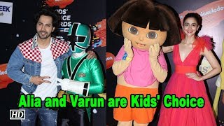 Alia and Varun are Kids' Choice - IANSINDIA