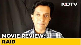 First Impressions Of Ajay Devgn's Raid - NDTV