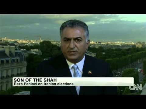CNN's Christiane Amanpour interview with Reza Pahlavi