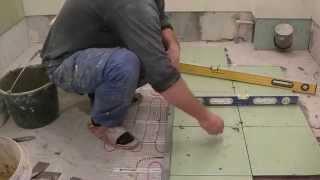 Как уложить плитку в ванной