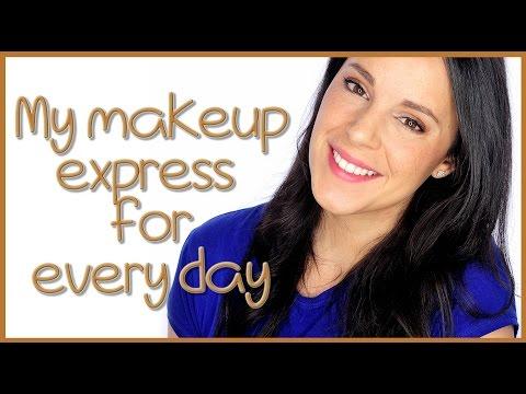 5 minutes express makeup tutorial | Silvia Quiros